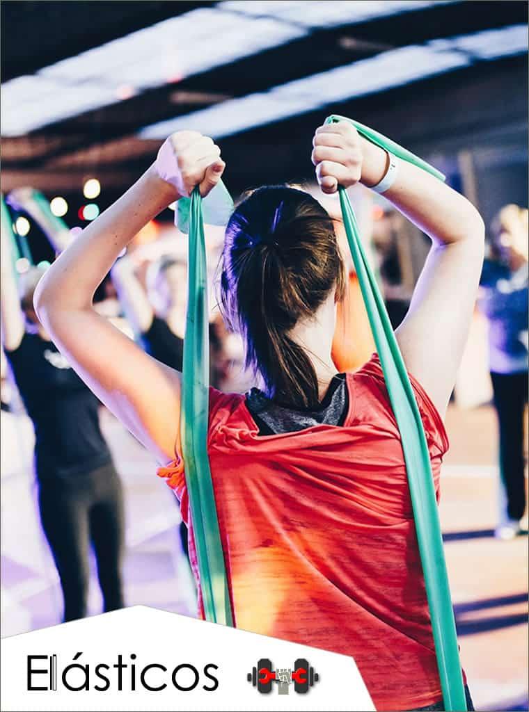 Catalogo de accesorios fitness (tubos de resistencia, bandas elásticas de latex, trx, tobilleras, chalecos)