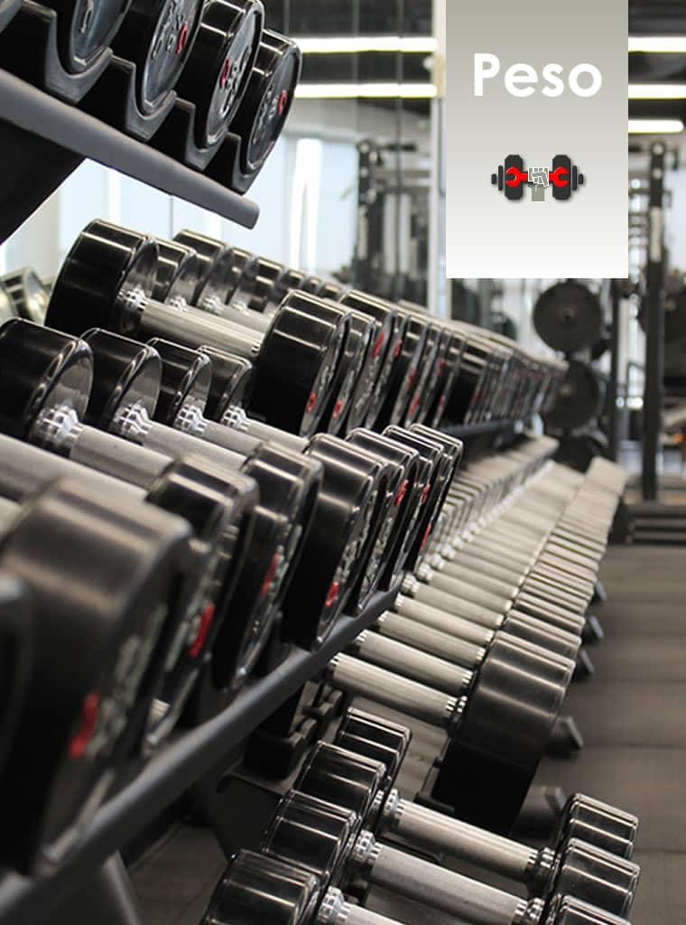 Catalogo de accesorios fitness para peso libre (muñequera, robillera, barras, pesas, mancuernas, muebles, guantes, body pump, barra olimpica, barra triceps, discos peso, pinzas barras)
