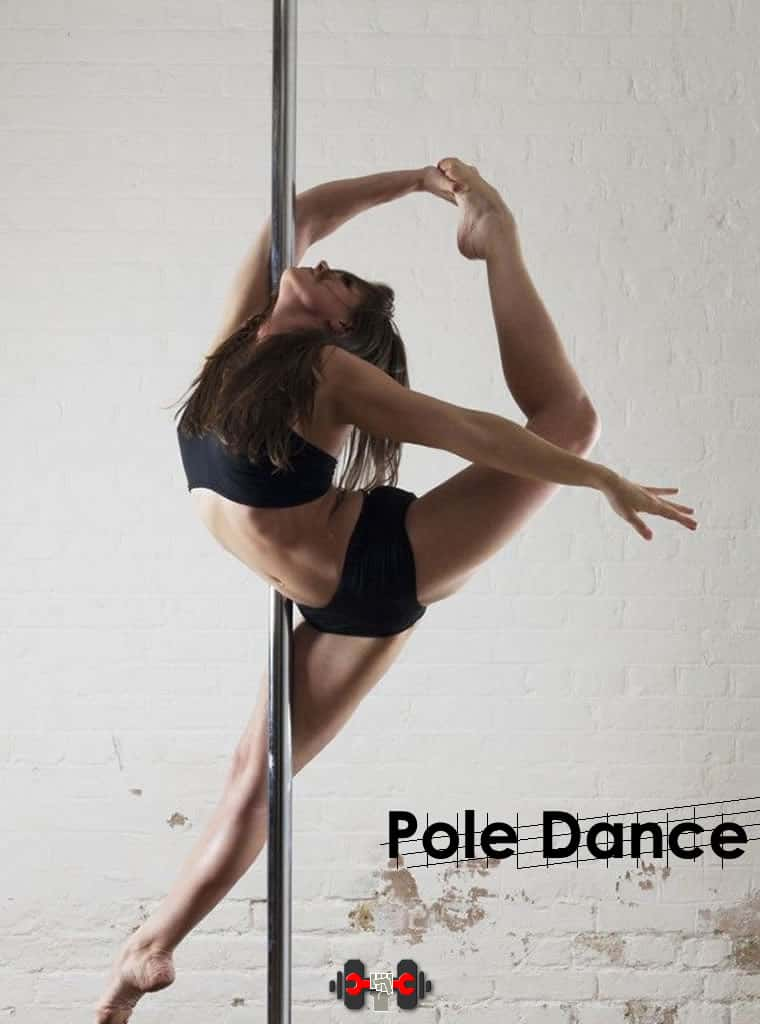 Catalogo de accesorios para Pole dance fija, pole dance giratoria